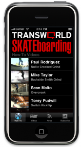 Transworld Skateboarding iPhone App